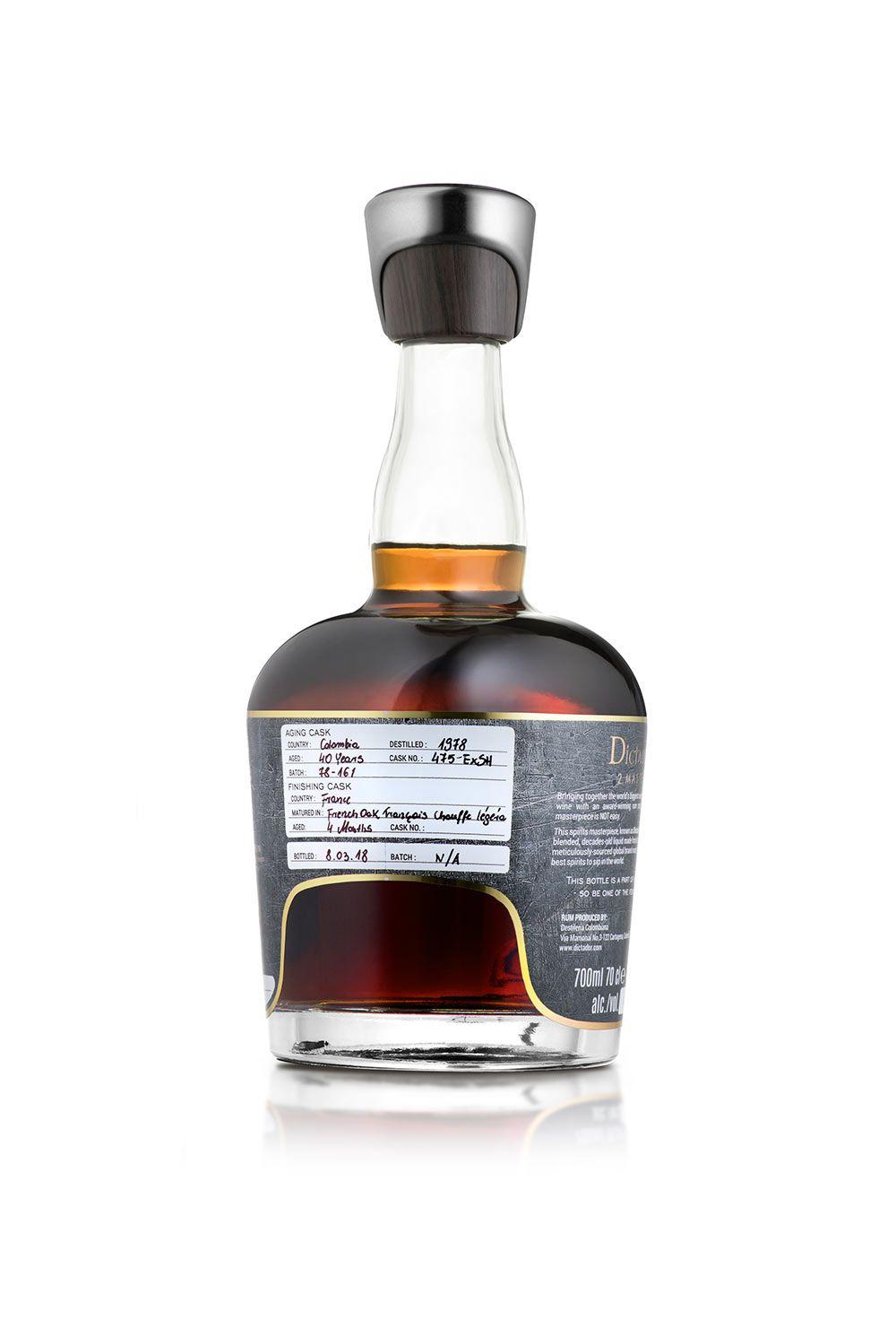 Rum Dictador 2 Masters Leclerc Briant 1979